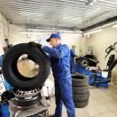 Снятая шина