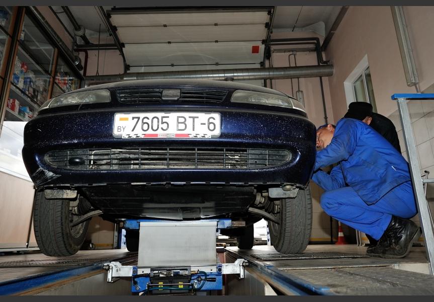 Диагностика подвески автомобиля в Могилеве