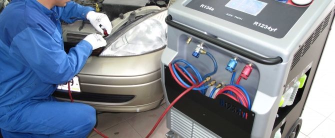 Заправка и ремонт кондиционера авто в Могилеве